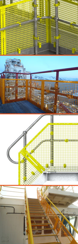BLH STOP DROP™ SAFETY BARRICADING SYSTEM