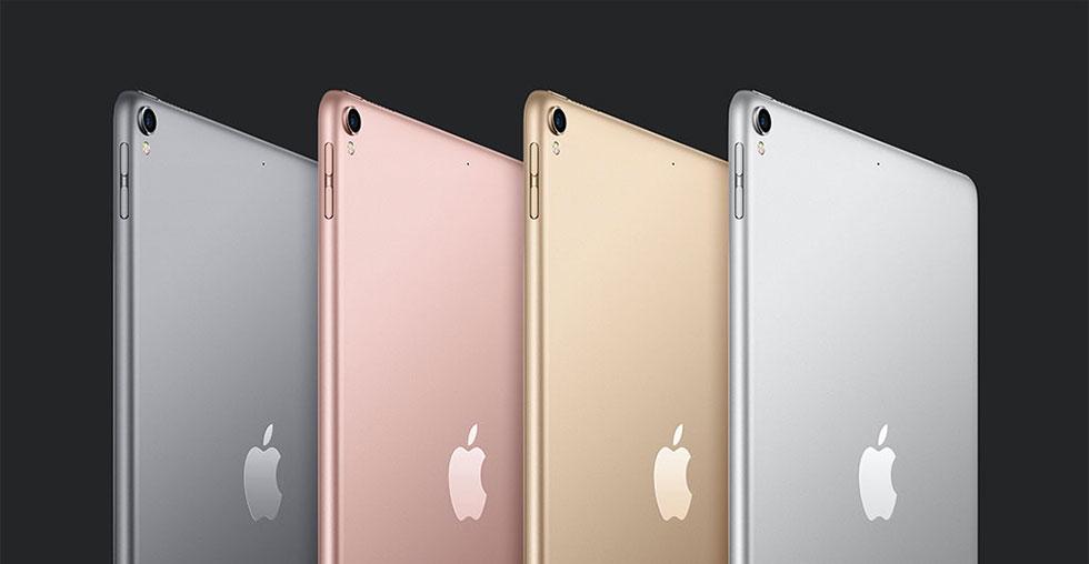iPad Pro. 4 couleurs width=