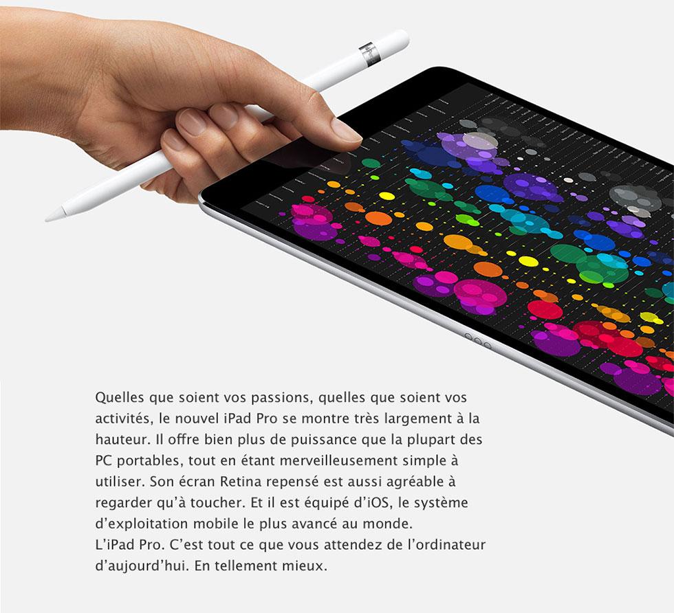 Nouvel iPad Pro