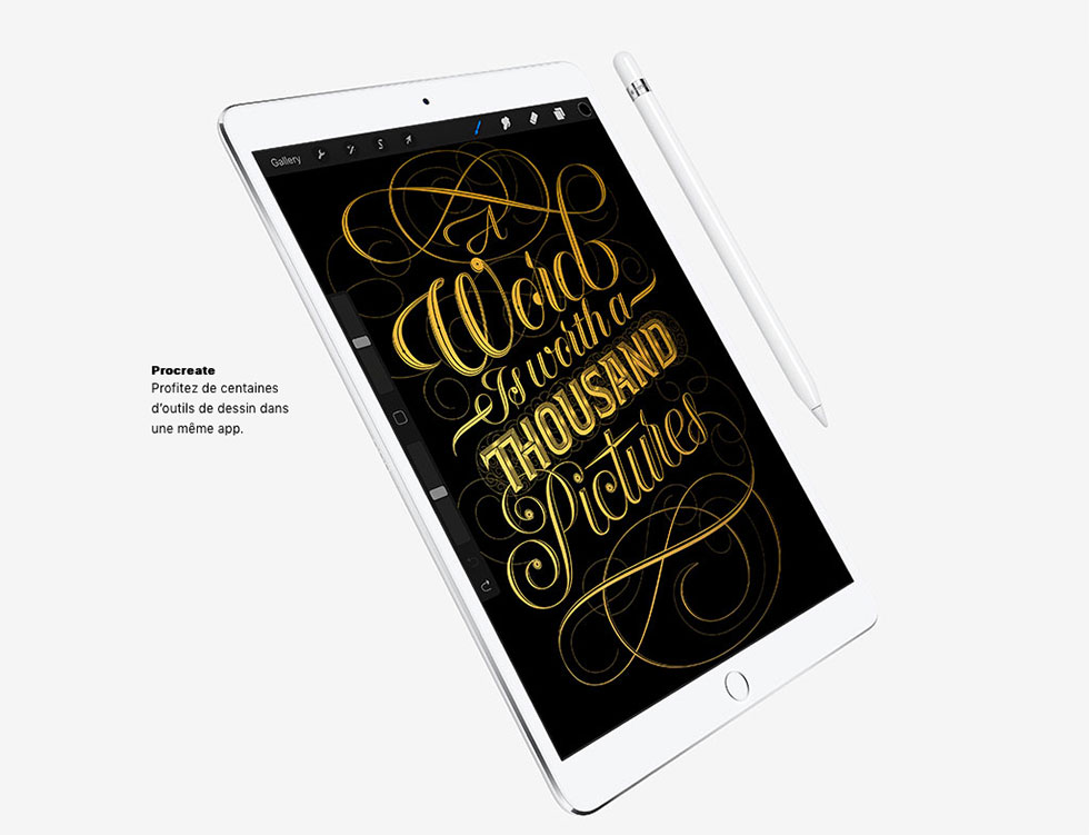 Proceatre - Outils de dessin pour iPad Pro.