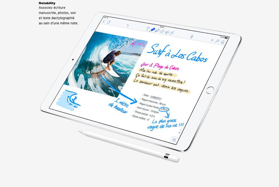 Notability - Outils d'écriture manuscrite pour iPad Pro.