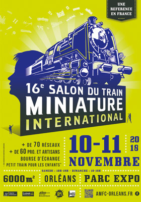 16e Salon du train Miniature International