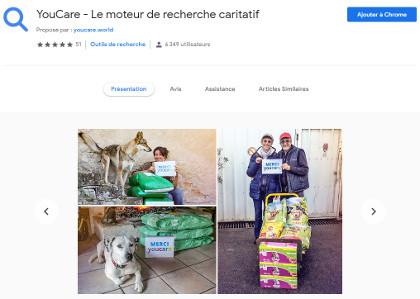 Youcare, nouveau moteur de recherche caritatif