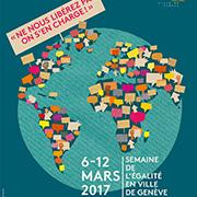 Affiche Semaine de l'égalité 2017